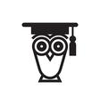 Owl Educational Symbol vector image