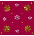bells and snowflakes vector image vector image