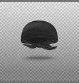 black bandana head scarf tied in back vector image vector image