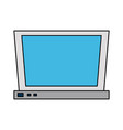 laptop computer icon image vector image vector image