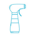 line spray bottle design with soap to clean vector image