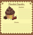 Recipe chocolate cupcake