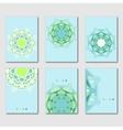 Set of abstract design templates brochures vector image vector image