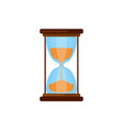 simple hourglasses icon vector image vector image