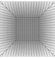 background with a perspective grid vector image