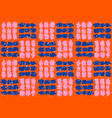 check pattern seamless reapet modern blocks retro vector image