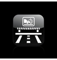 crash car icon vector image vector image