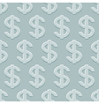 Dollars pattern vector image vector image