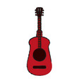 guitar draw vector image vector image