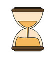 hourglass or sandglass icon image vector image vector image