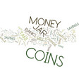 the money jar trap text background word cloud vector image vector image