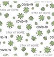virus epidemic seamless pattern backdrop