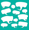 cloud talk vector image
