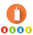 spray can symbol vector image