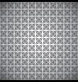 black grey design pattern vector image vector image