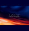 horizontal wide blurred mountain night stars sky vector image vector image