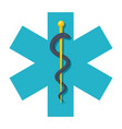 star of life vector image vector image