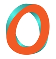 Twisted Letter O Logo Icon Design Template Element