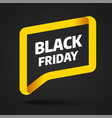 black friday sale and discount banner 2019 vector image