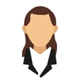 business woman icon vector image vector image