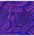 Decorative ornamental ethnic background vector image