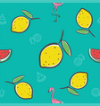 fruits seamless pattern background format vector image
