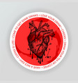 Heart drink coaster