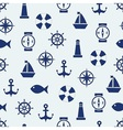 Maritime mood background vector image vector image