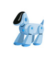 robotic dog flat vector image vector image