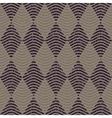 Seamless Navy Grey Color Hand Drawn Wavy vector image vector image