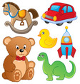 various toys collection 1 vector image