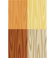Wooden texture set vector image vector image