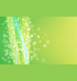 abstract bokeh backdrop bright green background vector image vector image