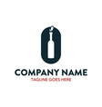 Bar beverage logo template