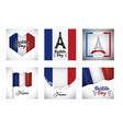 bastille day design vector image