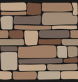 stones texture seamless stone wall brick vector image