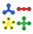 spinner hand toys vector image