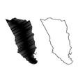 clarendon parish parishes jamaica middlesex vector image vector image