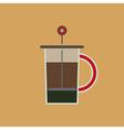 Coffee Press vector image
