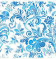 floral seamless pattern with colorful vector image vector image