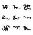 isolated object dinosaur and history symbol vector image