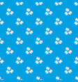 puzzle pattern seamless blue vector image vector image