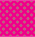 seamless pattern geometric colorful abstract vector image vector image