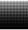 White Abstract Halftone Square Dot Background vector image vector image