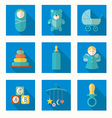 babies set vector image