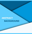 blue overlap layer for text and background design vector image vector image