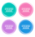 Colorful abstract round frames backgrounds