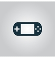 Handheld game console vector image vector image