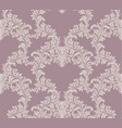 luxury handmade ornament decor baroque vector image vector image