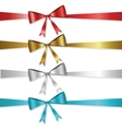 ribbon collection vector image